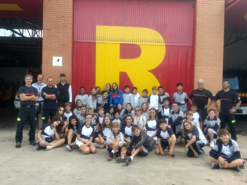 Year 8 Visit The Fire Station In Nules